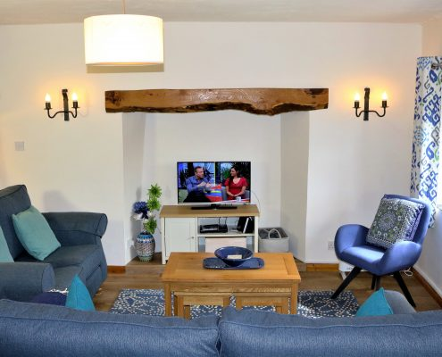 Willows dog-friendly cottage at Dittiscombe