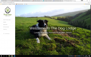 Luxury dog lodge, Slapton