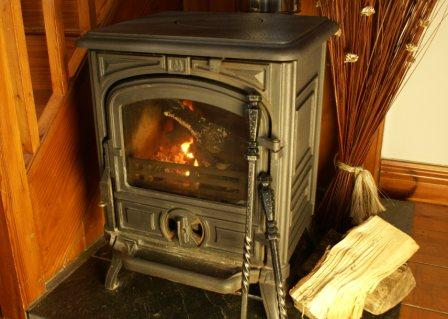 Cosy woodburners at Dittiscombe