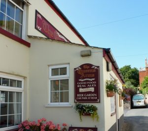 Queens Arms pub in Slapton