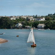 Sailing in Salcombe
