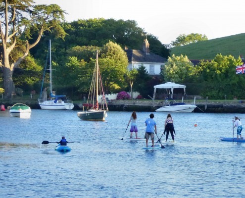 Paddleboarding in Kingsbridge