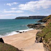 Beach near Salcombe