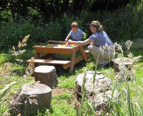 Child friendly holidays at Dittiscombe