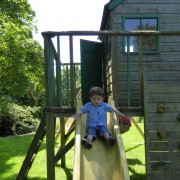 Playtime for children at Dittiscombe
