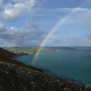 Rainbow over Start Bay