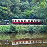 Steam Train by the River Dart, South Devon