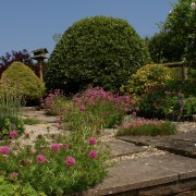 The Owlery garden, Dittiscombe, South Devon