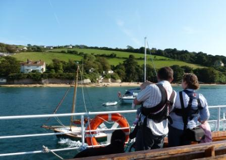 River ferry at Salcombe