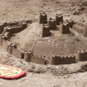 Sandcastles in South Devon