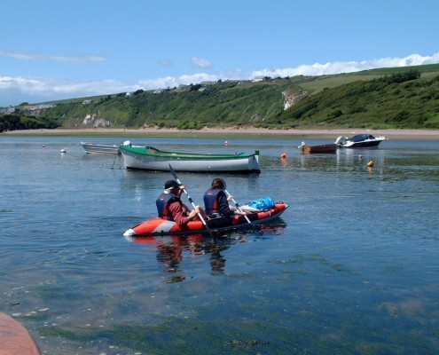 Kayaking in South Devon