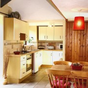 Kitchen at Rafters in Dittiscombe