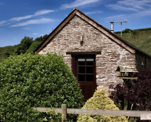 Romantic cottage for 2 at Dittiscombe