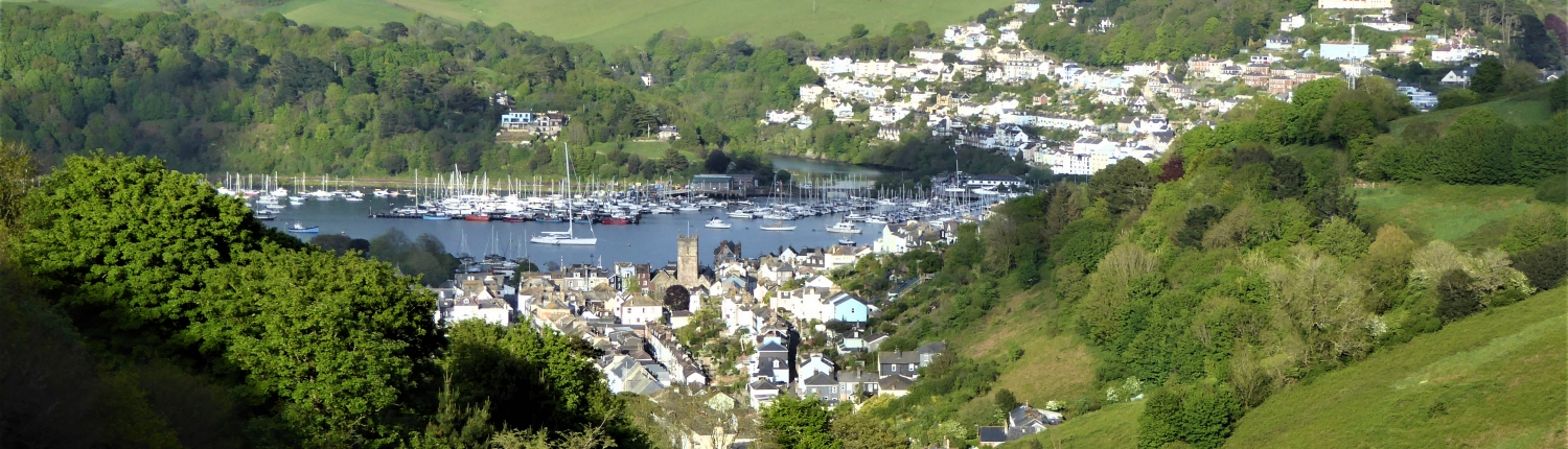 Dartmouth town and estuary