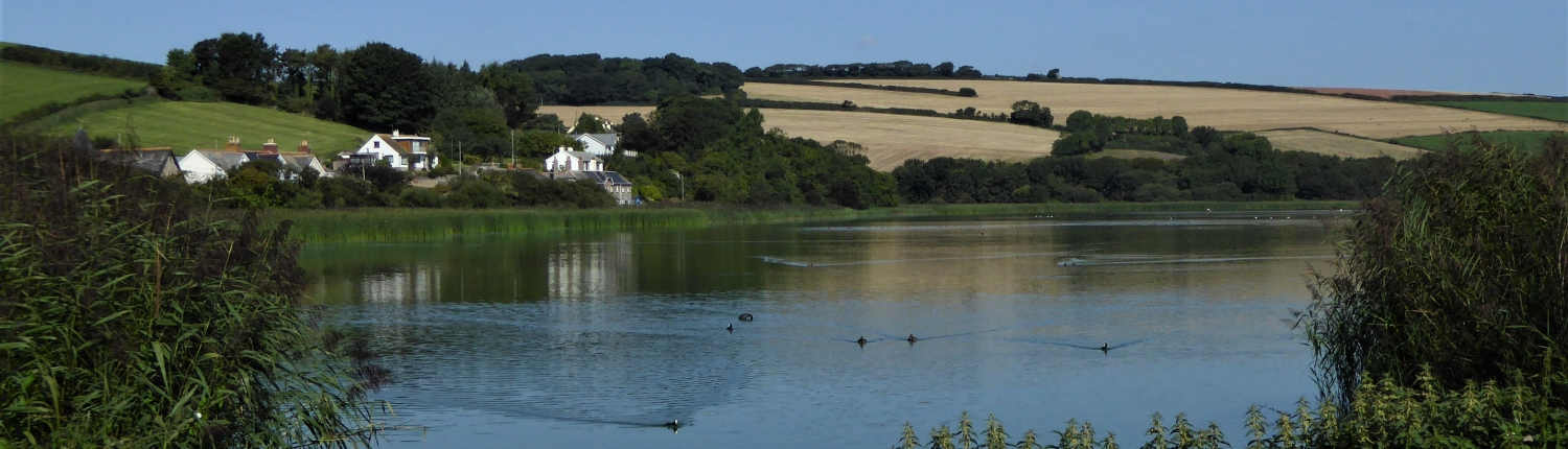 View of Slapton Ley from Torcross