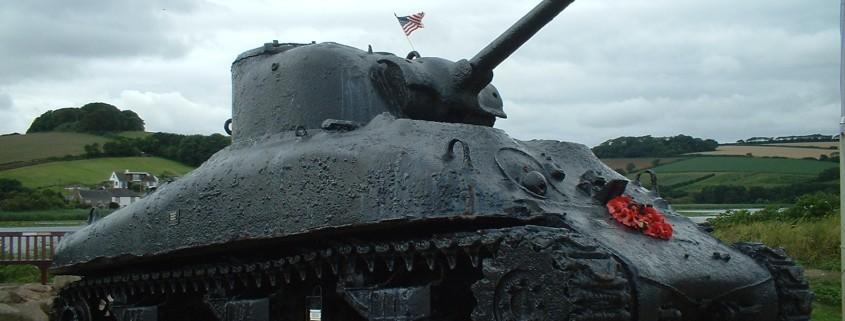 Sherman tank at Torcross