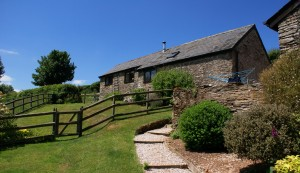Honeysuckle cottage sleeps 2 at Dittiscombe