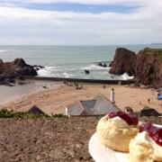 Cream Tea, Hope Cove, South Devon