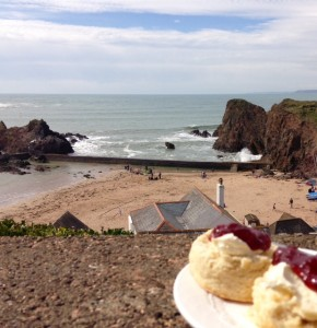Cream Tea, Hope Cove, South Devon