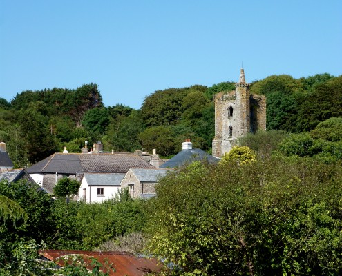 Slapton village, South Devon