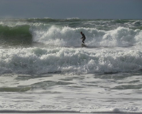 Surfing, South Devon
