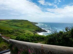 View from Gara Rock Restaurant