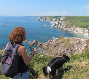 South West Coast Path at Ayrmer Cove
