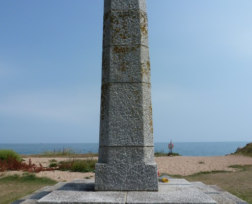 Memorial at Slapton Sands, South Devon