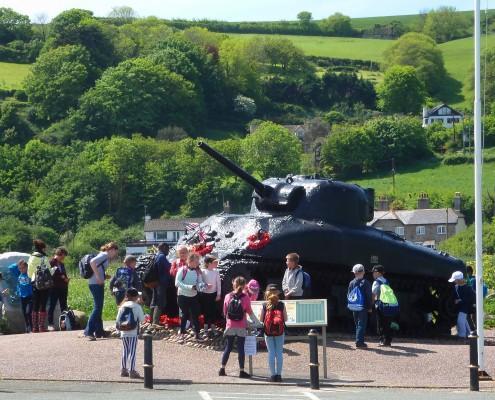 Memorial Tank at Torcross