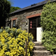 Buddleia dog-friendly cottage at Dittiscombe