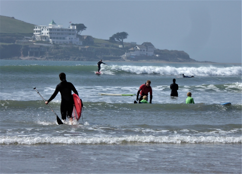 Watersports at Bantham, South Hams