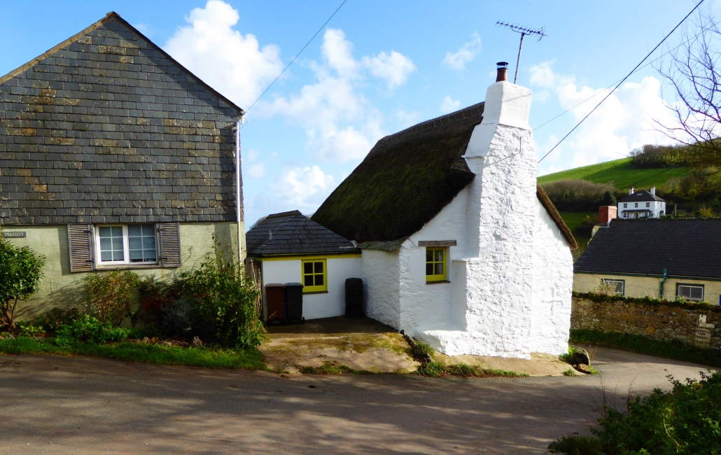 Old Cottages near Hallsands