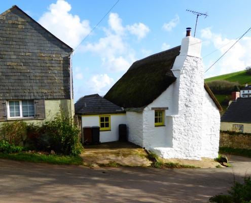 Old Cottages near Hallsands