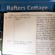 Rafters Guest Book