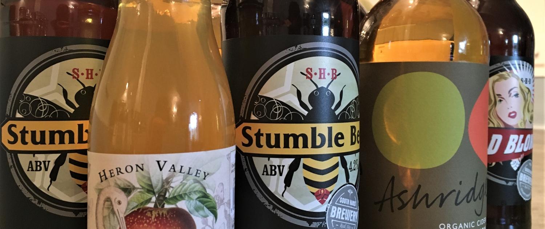 South Hams local drinks
