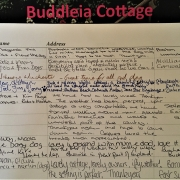 Guest Book at Dittiscombe Holiday Cottages