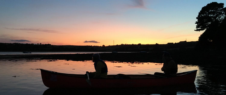 Evening paddle with Singing Paddles near Kingsbridge